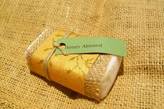 http://www.etsy.com/shop/OohLaLatherSoaps Honey Almond is one of my favorite scents by Ooh La Lather Soaps! My husbands said it made me smell like sweet candy! And I'm forever impressed with the way it leaves your skin feeling renewed, fresh, and soft all day!