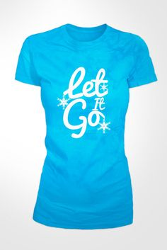 Hey, I found this really awesome Etsy listing at https://www.etsy.com/listing/182311917/frozen-blue-let-it-go-ladies-t-shirt