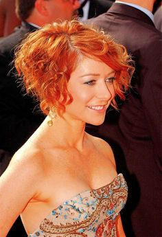 hairstyles for short hair and bangs - Hairstyles For Short Curly Hair Ideas – Curly Hairstyles Ideas