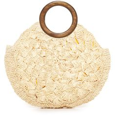 Kayu Coco Bag (8,195 INR) ❤ liked on Polyvore featuring bags, handbags, straw tote handbags, straw handbags, tote handbags, woven purse and woven straw handbags