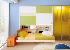 armoire lit poppi ponte image - modulable lit escamotable