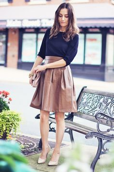 i need a leather skirt
