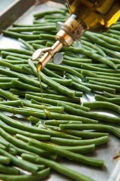 Easy And Addictive Roasted Green Beans (vegan, gluten-free) | Will Cook For Friends