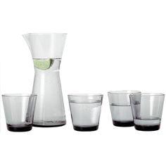 Iittala Kartio tumbler 21 cl, grey, set of 2 | Iittala Kartio | Glasses | Tableware | Finnish Design Shop