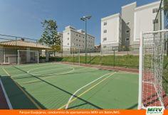 Paisagismo do Guajajaras. Condomínio fechado de apartamentos localizado em Betim / MG.