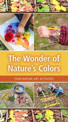 Fall Crafts, Diy Crafts, Outdoor Learning Spaces, Little Man, Learning Activities, Art Projects, September, School, Nature