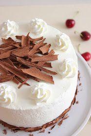 "Kiara`s cakes: Tarta ""Selva negra"" / Black Forest Cake Black Forest Cake, Vanilla Cake, Catering, Panna Cotta, Cheesecake, Ethnic Recipes, Desserts, Spanish, Baby Shower"