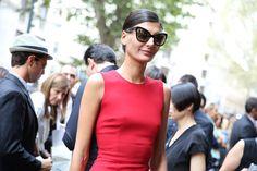 La rédactrice mode de l'Uomo Vogue Giovanna Bataglia ♥