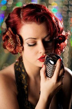 50s Dream Vixen:: Pin Up Hair:: Vintage Hairstyles:: Retro Hair:: Rockabilly