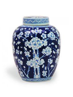 Cherry Blossom Jar