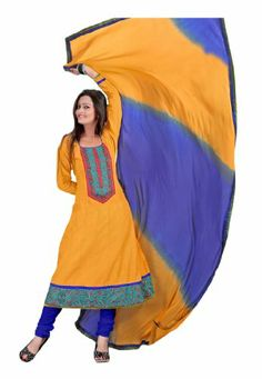 Fabdeal Women's Indian Designer Wear Embroidered Salwar Yellow Fabdeal,http://www.amazon.com/dp/B00F0KLZCM/ref=cm_sw_r_pi_dp_-wtptb0W6EG411YR