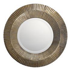 Uttermost Amasa Round Mirror