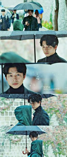 GOBLIN  - I really think only an actor of Gong Yoo's caliber could have pulled these expressions off successfully.
