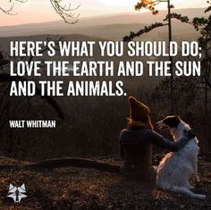 Advice Quotes, Life Advice, Good Advice, Animals Are Beautiful People, Love The Earth, Walt Whitman, Save The Planet, Beautiful Words, Great Quotes
