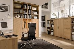 home offices | Small Home Office with Modern Design | HOMENIT