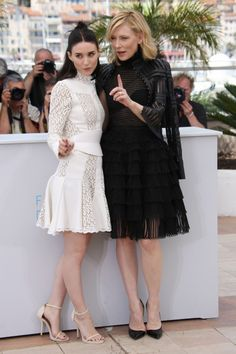 Rooney Mara and Cate Blanchett at Cannes Film Festival 2015