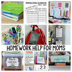 Homework Help for Moms