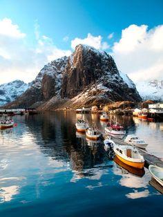 Lofoten Islands, Hamnoy, Norway