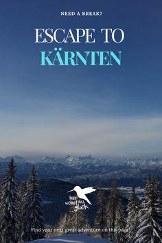 """Wir alle kennen das Gefühl, wenn es am Vorabend geschneit hat und wir vor lauter Freude am liebsten sofort auf den nächsten Berg fahren würden, um zu """"powdern"""".  Diese Verhältnisse findet man auf der Gerlitzen in Kärnten mit Blick auf den Ossiacher See. Mehr auf unserer Homepage :) #kärnten #gerlitzen #skifahren #snowboardfahren #urlaubinkärnten #urlaubinösterreich #winterwonderland #ausflügeinkärnten #ausflügeinösterreich #hierwohntdasglück #ossiachersee Snowboard, Need A Break, Greatest Adventure, Berg, Ski, Road Trip Destinations, Glee"""