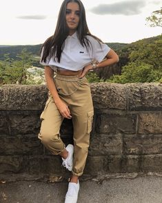 67 Baddie Outfits That Make You Look Cool – outfits Tumblr Outfits, Mode Outfits, Sport Outfits, Girl Outfits, Fashion Outfits, Camo Fashion, Sporty Fashion, Sporty Chic, Fashion Trends