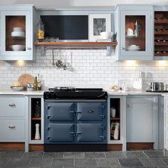 Home Interior Farmhouse .Home Interior Farmhouse Aga Kitchen, Kitchen Decor, Kitchen Cabinets, Kitchen Ideas, Kitchen Counters, Kitchen Furniture, Kitchen Ranges, Kitchen Planning, Kitchen Dining