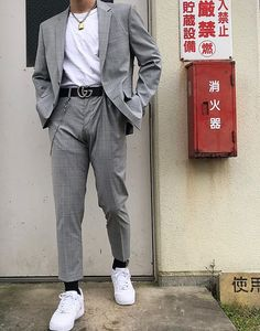 dress styles for men Outfits Hipster, Mode Outfits, Trendy Outfits, Fashion Outfits, Spring Outfits, Aesthetic Fashion, Aesthetic Clothes, Korean Fashion Men, Mens Fashion