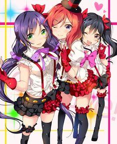 Love Live! School Idol Project Maki and Nozomi