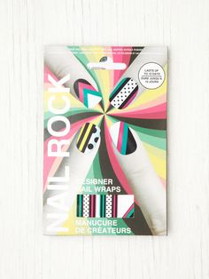 geometric nail wraps #nail #art