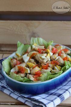 #Insalata #pollo #mela #ricetta #foodporn #gialloblogs