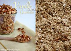 Sugarbaby: Vanille-Kokos-Granola