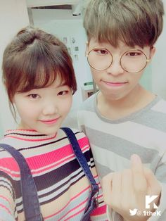 This pair is so talented and soooooo cute - AKMU