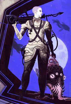 space mariner by Kali Ciesemier