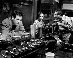 "Anna Maria Pierangeli e Paul Newman nel film ""Lassù qualcuno mi ama"" (1956) di Robert Wise"