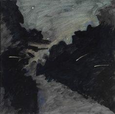 Lois Dodd - 'Fireflies'
