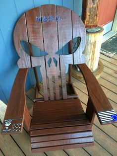 Finished Punisher chair by me.