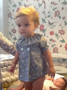 Vintage Children, Baby Dolls, Baby Kids, Kids Outfits, Kids Fashion, Rompers, Sewing, Liberty, Chelsea