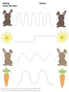 FREE Easter: You will receive three free spring worksheets for preschool and/or kindergarten. They are all matching worksheets (no prep) along with answer keys. Enjoy! https://www.teacherspayteachers.com/Product/Free-Spring-Worksheets-Preschool-Kindergarten-Visual-Discrimination-1206247