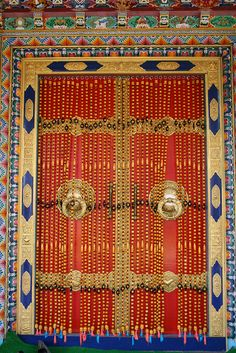 Door to a Monastery in India by mridula on Flickr