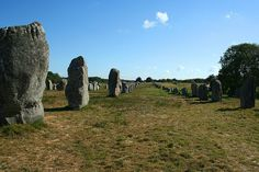 Alineamientos en Carnac by juanmb, via Flickr