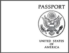 """Printable blank passport and all you need to know to host your own """"international field trip"""" without leaving the building. Can be catered to grades 1-6."""