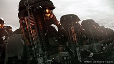 The Helghast from Kill Zone
