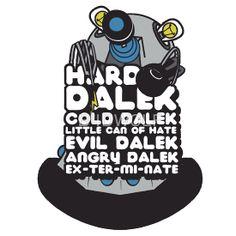 Hard Dalek Cold Dalek New Design (Grey/Blue)