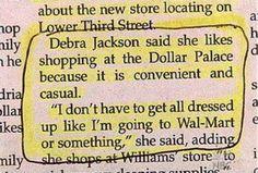 Wal-Mart vs The Dollar Palace!