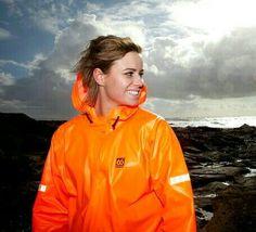 Diving Suit, Rain Suit, Rain Wear, Vinyls, Orange, Yellow, Farmer, Rain Jacket, Windbreaker