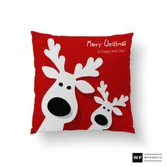 Holiday Pillows  Christmas Pillows  Christmas by wfrancisdesign