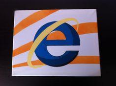 Internet Explorer Stencil