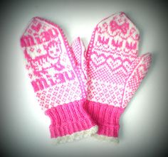 Ravelry: Miaut pattern by Lumi Karmitsa Ravelry, Gloves, Knitting, Crochet, Pattern, How To Make, Fiber, Book, Happy