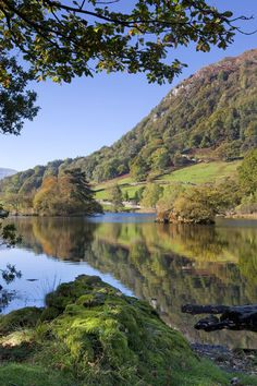 Rydal Water. Lake District by Chris Ceaser photography