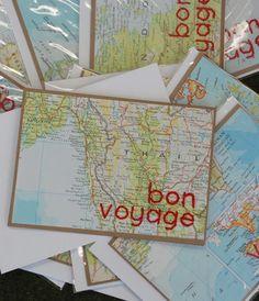 $6.95 bon voyage card - hand crafted by peggy takes manhattan #staffpicks