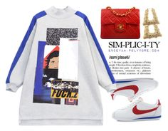 """""""Hold Up-Beyoncé"""" by endeyah ❤ liked on Polyvore featuring NIKE, Chicnova Fashion and Chanel"""